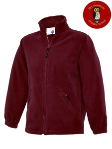 Dry Sandford Primary School Fleece (UC603Maroon)