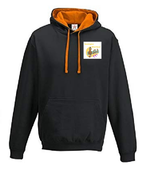 Kennington Wind Band - Children's Hoodie (jJH03JCrushOrange)