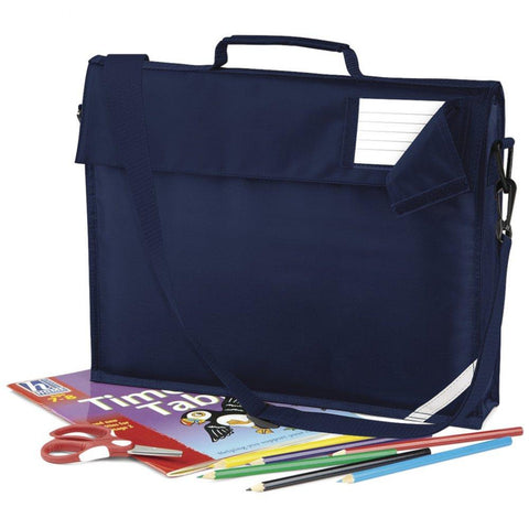 Sunningwell Primary School Branded Book Bag With Strap (QD457Navy)