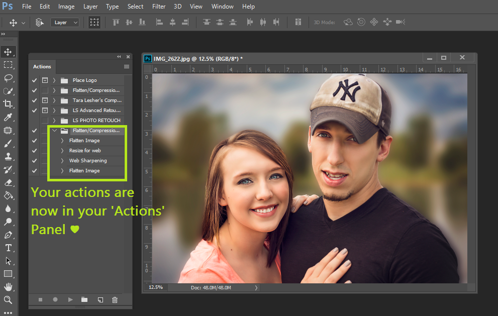 How to Install Adobe Photoshop Actions