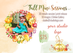 Harvest Mini 5x7 Marketing Template