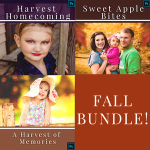 Fall Photoshop Actions Bundle - Save 50% when you buy all together!