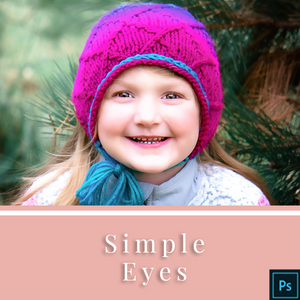 Simple Eyes - Actions for Photoshop