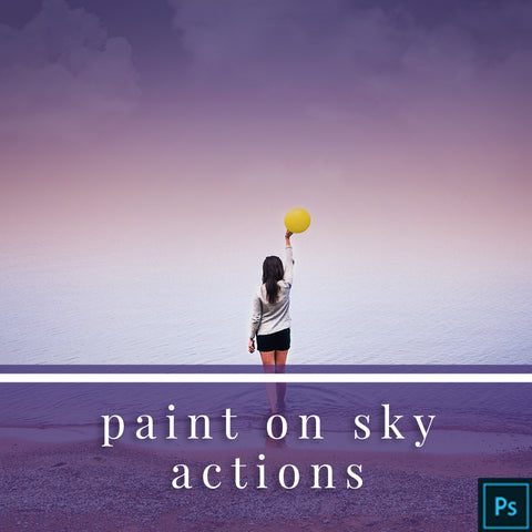 Paint on Sky - Photoshop Actions