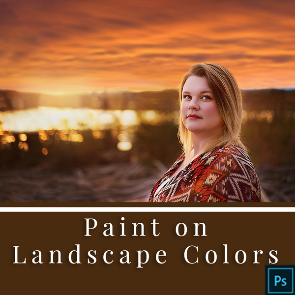 Paint on Landscape Colors - Actions for Photoshop