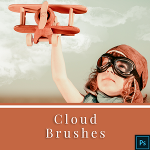 Cloud Brushes for Adobe Photoshop
