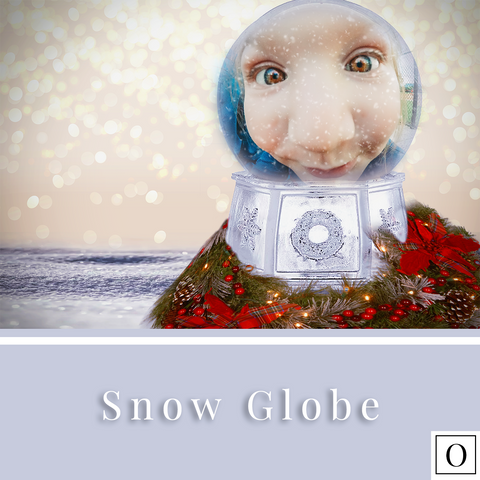 Snow Globe - Overlay/Digital Background