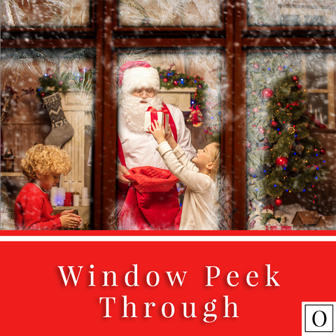 Window Peek Through - Christmas Overlay