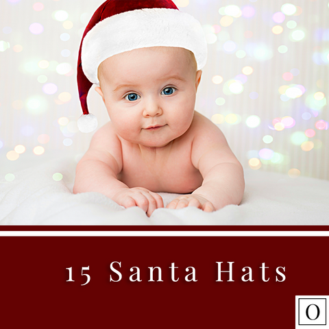 15 Santa Hat Overlays