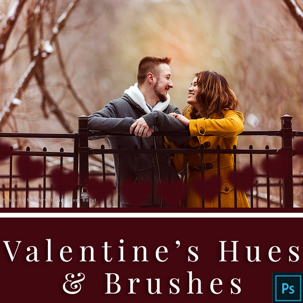 Valentine's Hues Photoshop Actions and Brushes