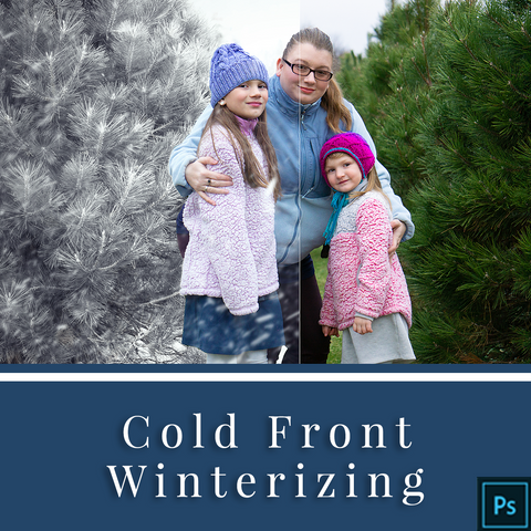 Cold Front Actions for Photoshop