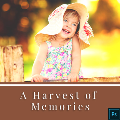 A Harvest of Memories - Actions for Photoshop