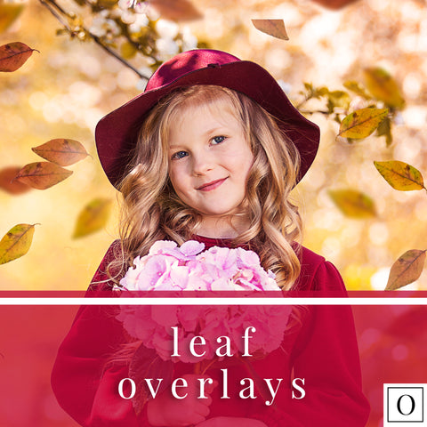 Leaf Overlays and Helper Photoshop Actions