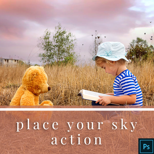 Place Your Sky Photoshop Action