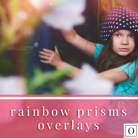 Rainbow Prisms Overlays and Helper Photoshop Actions