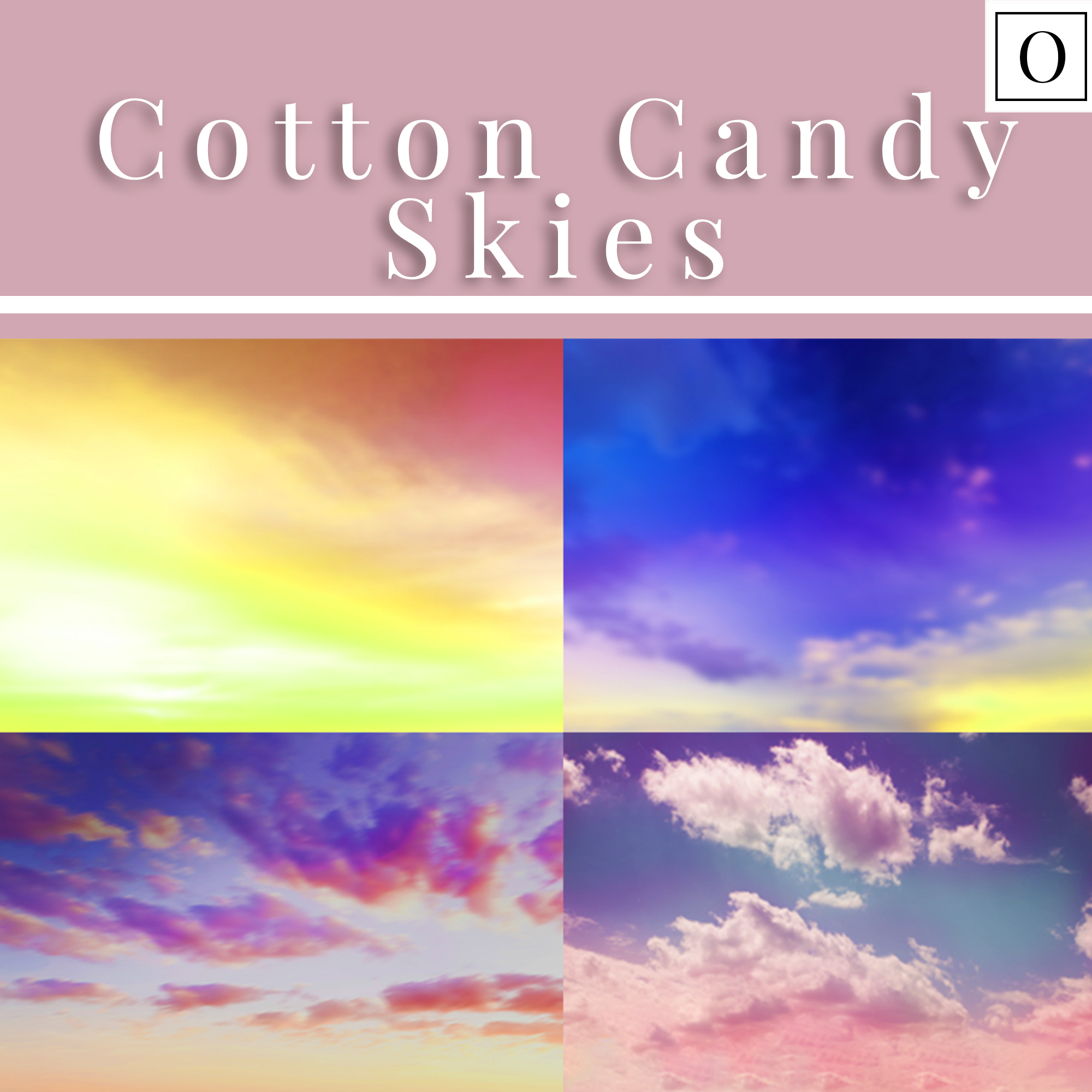 Cotton Candy Sky Overlays