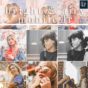 Bright and Airy Mobile Lightroom Presets