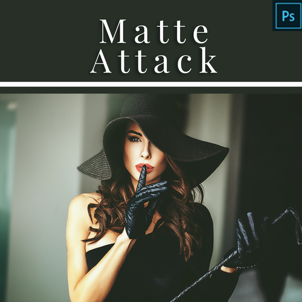 Matte Attack - Actions for Adobe Photoshop