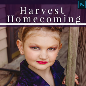 Harvest Homecoming - Fall Actions for Photoshop