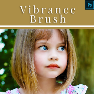 Vibrance Brush - Action for Photoshop