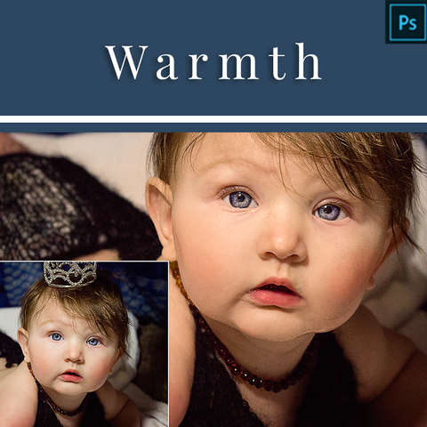 Warmth - Actions for Photoshop