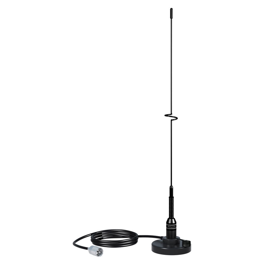 "Shakespeare VHF 19"" 5218 Black SS Whip Antenna - Magnetic Mount [5218]"