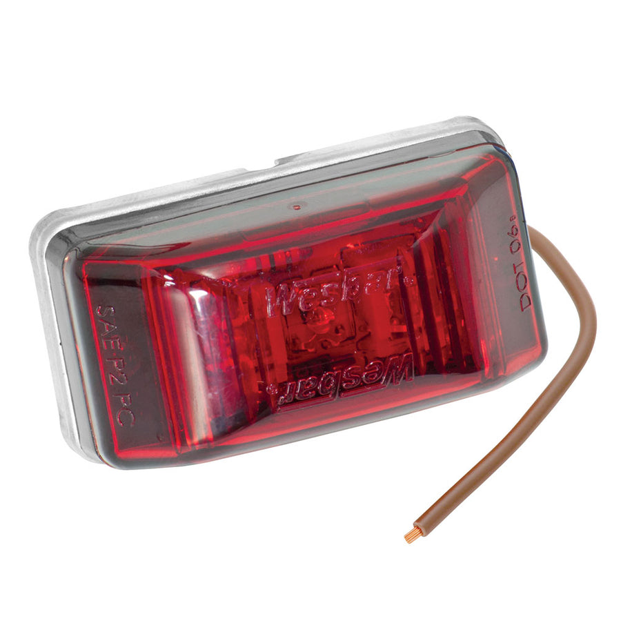 Wesbar LED Clearance-Side Marker Light #99 Series - Red [401566]