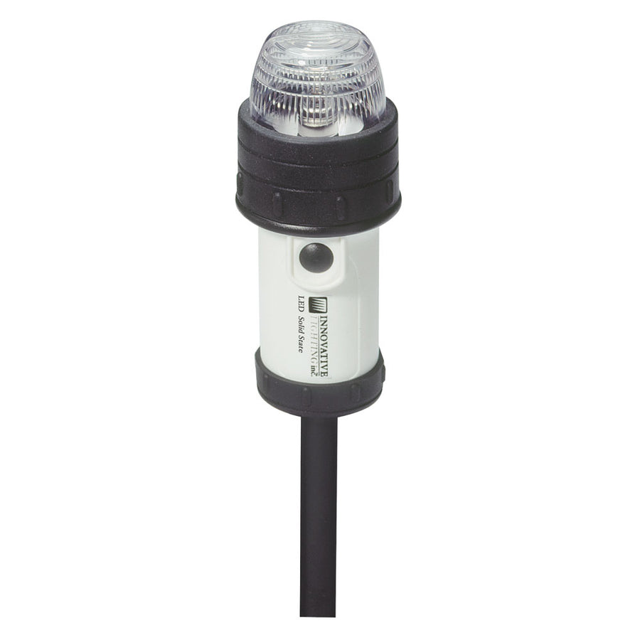 "Innovative Lighting Portable Stern Light w/18"" Pole Clamp [560-2113-7]"