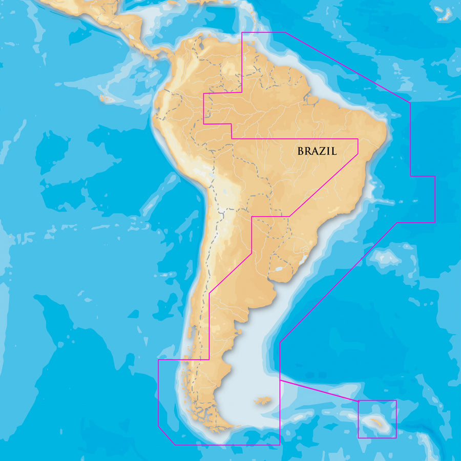 Navionics Platinum+- South America East - microSD/SD [MSD/909P-2]