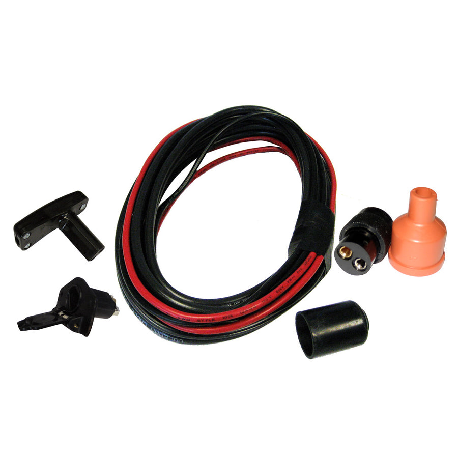 Powerwinch Universal Bumper Wiring Kit 6' f-Trailer Winches [P7702101AJ]
