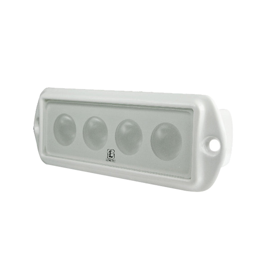 Lumitec Capri LED Flush Mount Cockpit Light - White [101009]