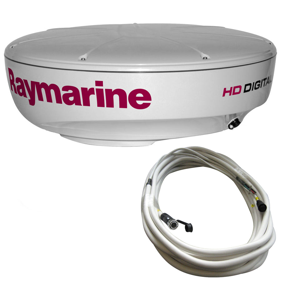 Raymarine RD424HD 4kW Digital Radar Dome w-10M Cable [T70169]