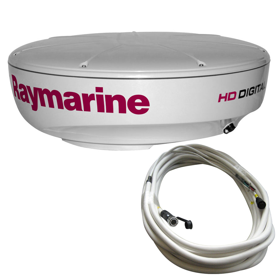 Raymarine RD418HD Hi-Def Digital Radar Dome w-10M Cable [T70168]