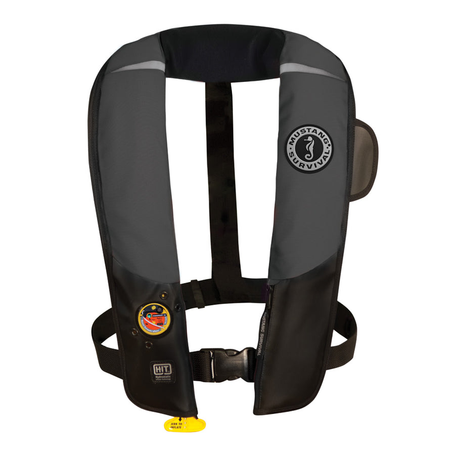 Mustang HIT Inflatable Automatic PFD - Gray-Black [MD3183-02-GR-BK]