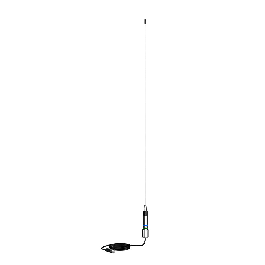 "Shakespeare AM-FM Low Profile Stainless Antenna - 25"" [4356]"