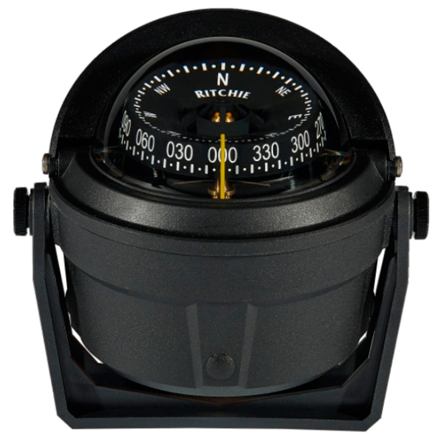 Ritchie B-81-WM Voyager Bracket Mount Compass - Wheelmark Approved f-Lifeboat & Rescue Boat Use [B-81-WM]