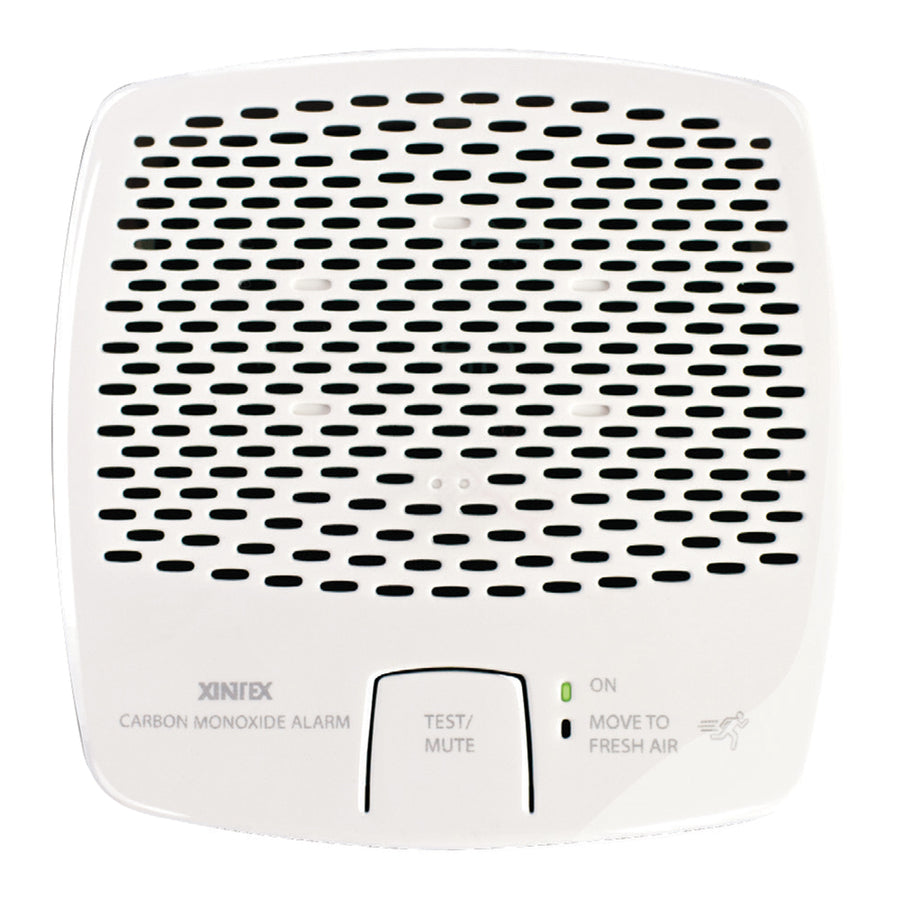 Xintex Carbon Monoxide Alarm - Battery Operated w-Interconnect - White [CMD5-MBI-R]