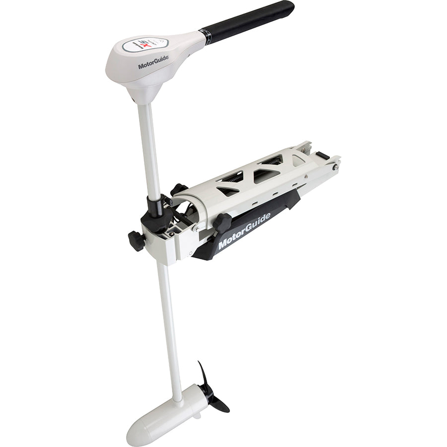 "MotorGuide X5-80SW Salt Water Digital Hand Control Bow Mount Trolling Motor - 80lbs-50""-24V [941400040]"
