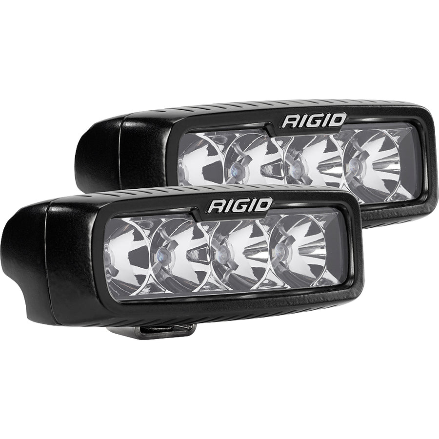 RIGID Industries SR-Q Series PRO Flood LED - Pair - Black [905113]