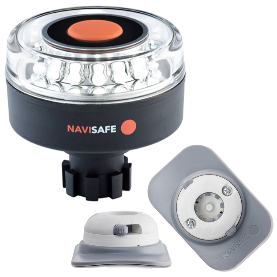 Navisafe Navilight 360 2NM w/Navibolt Base  RIB Mount - White [042KIT4]