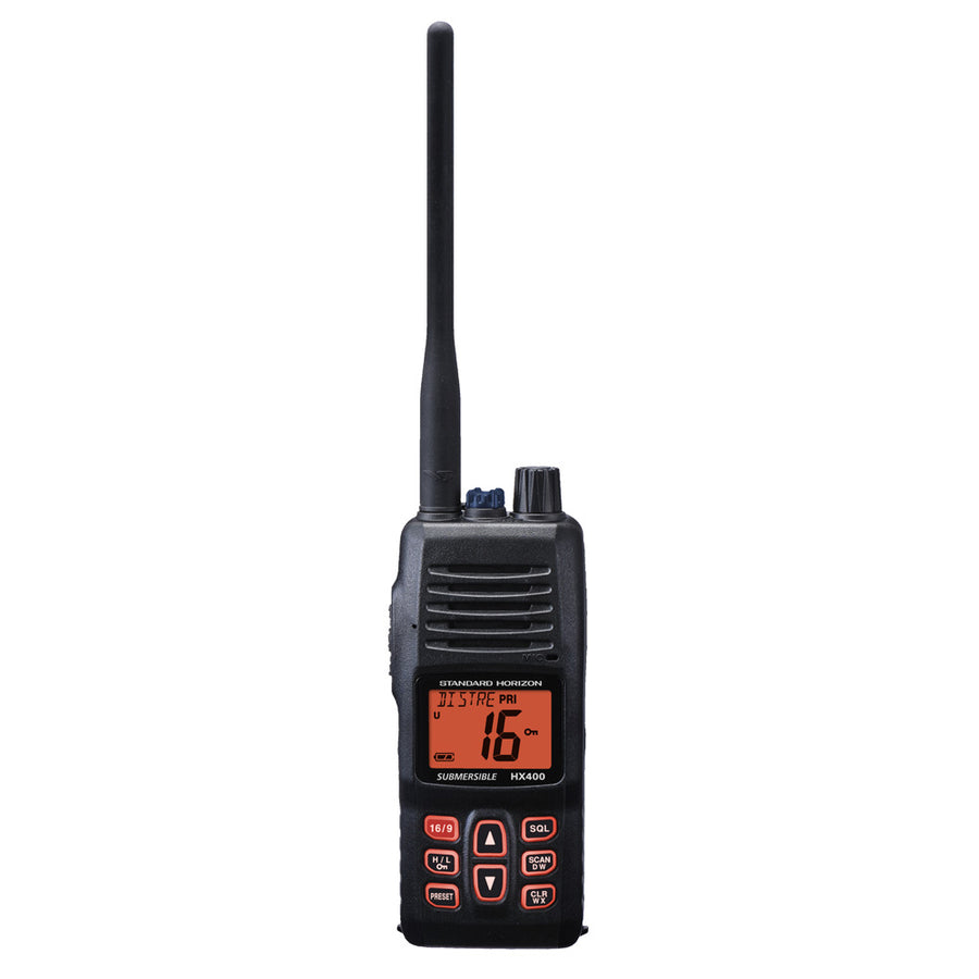 Standard Horizon HX400IS Handheld VHF - Intrinsically Safe - *Case of 20* [HX400ISCASE]