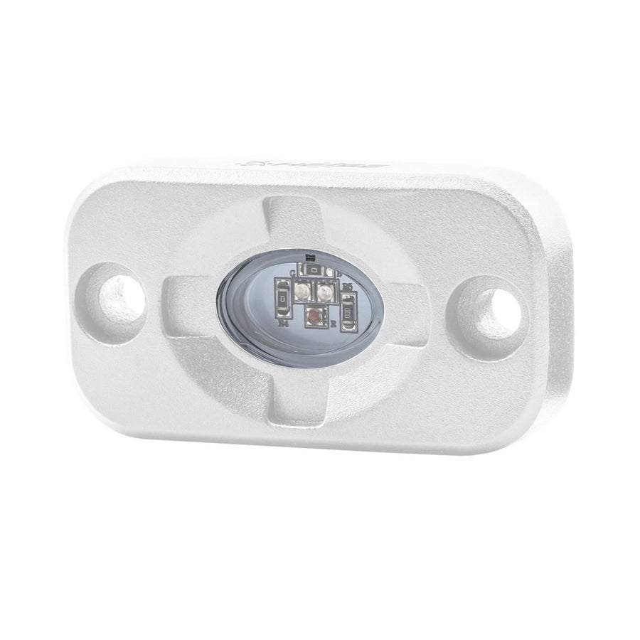 "HEISE RGB Marine Accent Light - 1.5"" x 3"" - White-RGB [HE-ML1RGB]"