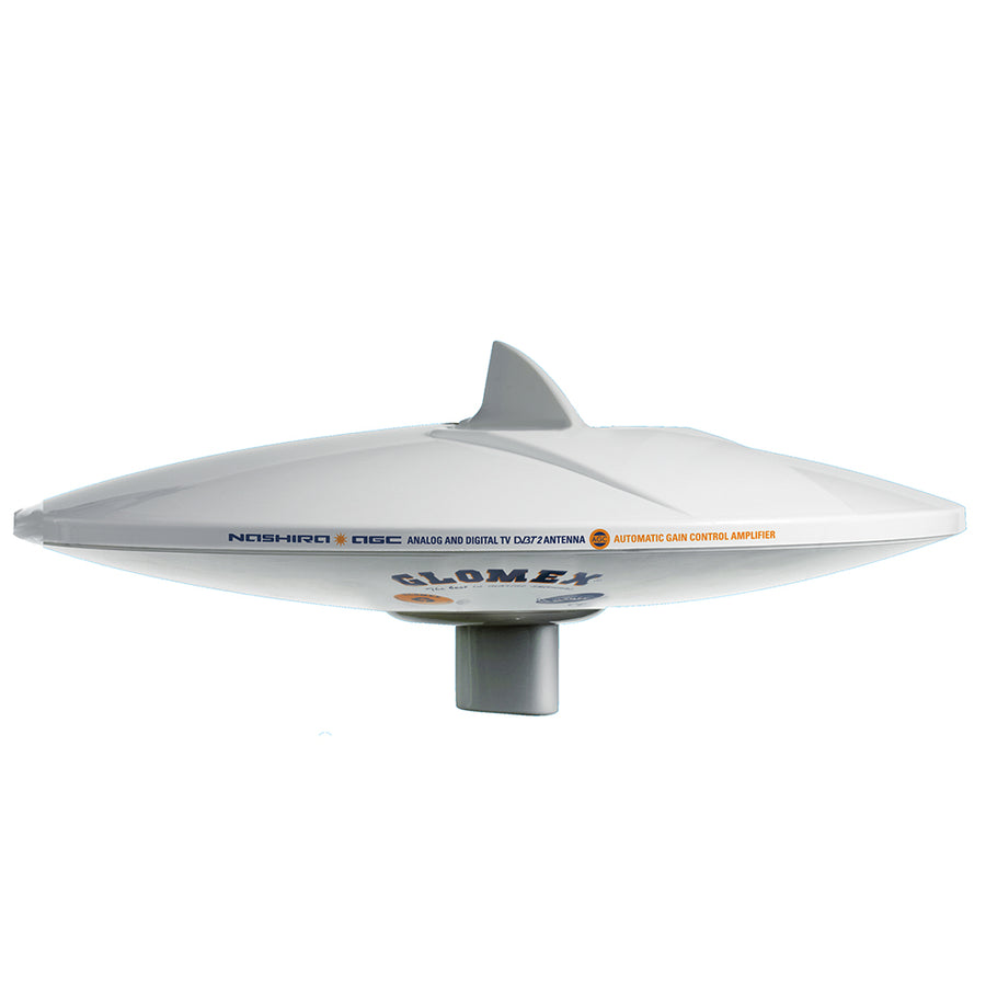"Glomex DVB-T2 TV Full HD 14"" Marine Omnidirectional Antenna - w-Automatic Gain Control [V9112AGCU]"