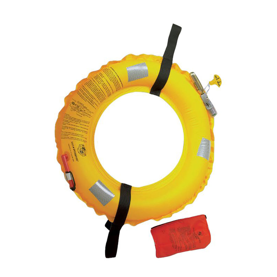 Stearns Man Overboard Inflatable Life Ring [I014YEL-00-000]