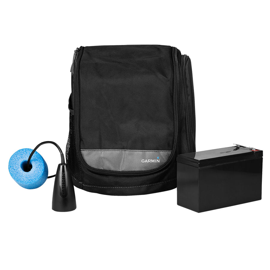 Garmin Small Portable Ice Fishing Kit w/GT8HW-IF Transducer [010-12462-10]