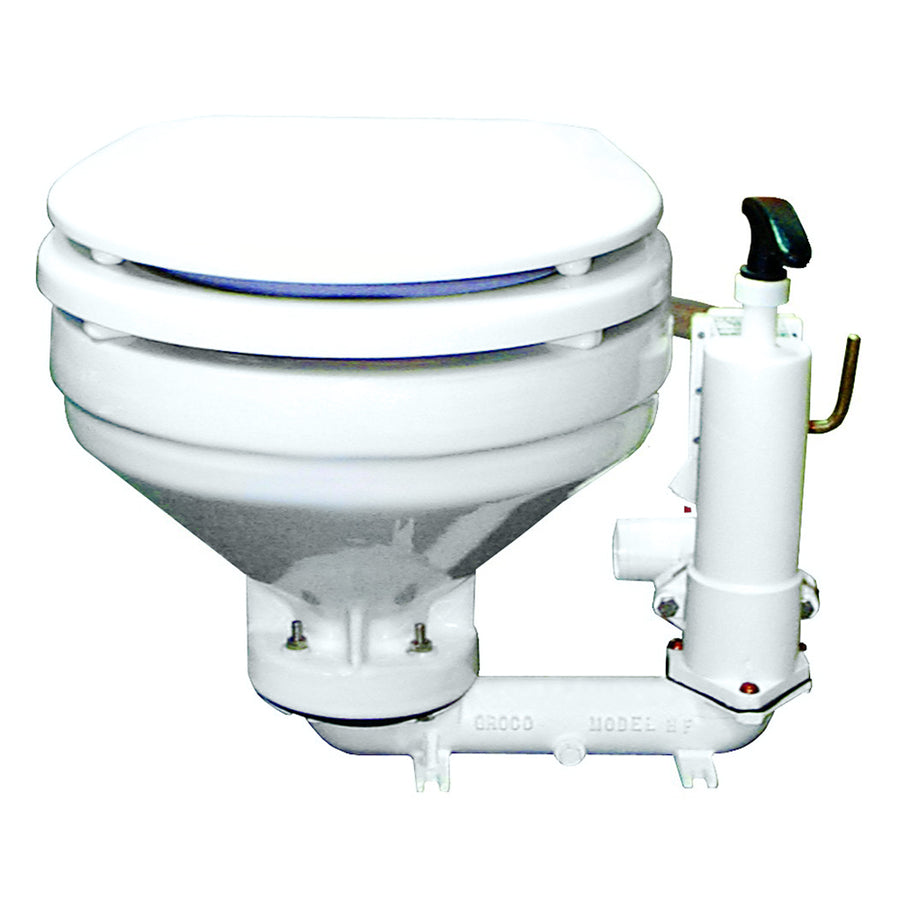 GROCO HF Series Hand Operated Marine Toilet [HF-B]