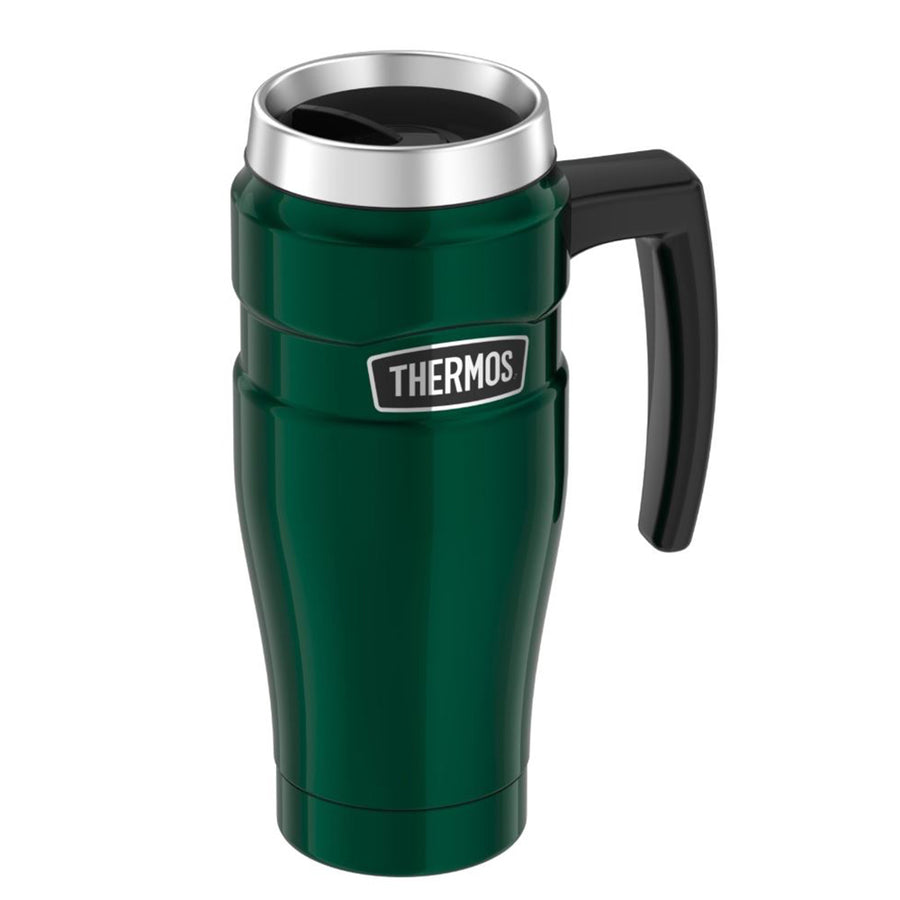 Thermos Stainless King Vacuum Insulated Stainless Steel Travel Mug - 16oz - Pine Green [SK1000PG4]