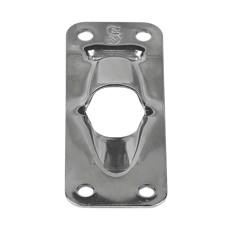 "Schaefer Exit Plate-Flat f-Up To 1-2"" Line [34-46]"