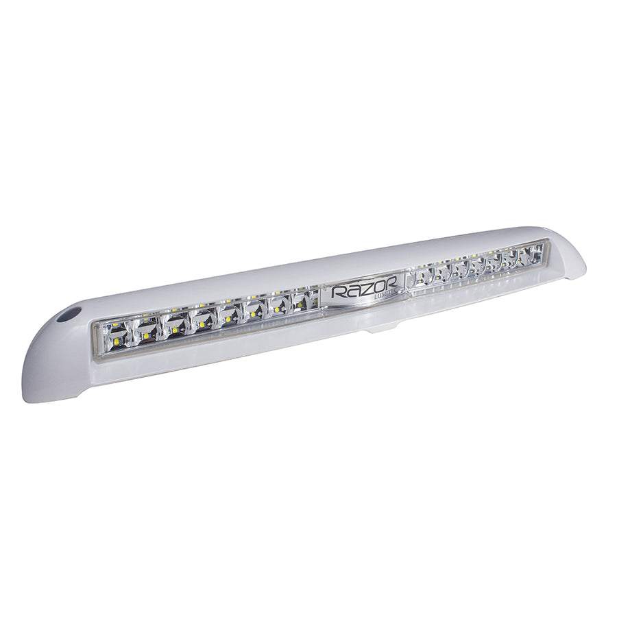 Lumitec Razor Light Bar -Flood - Flush Mount - White [101586]