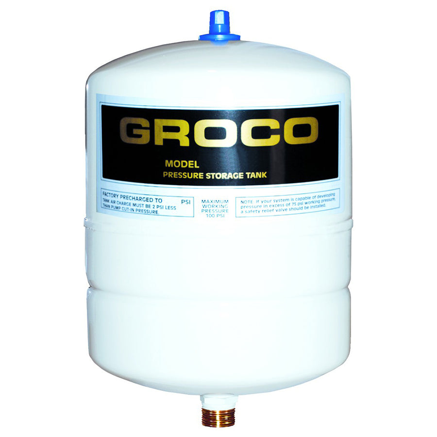 GROCO Pressure Storage Tank - 0.5 Gallon Drawdown [PST-1]
